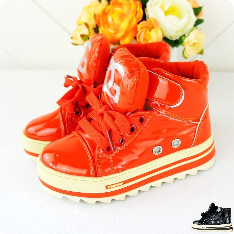 Детская кожаная обувь Kaka's shoes shop 816 Жен., Муж., Унисекс Грубая кожа Шнурок Комбинированная подошва С блестками