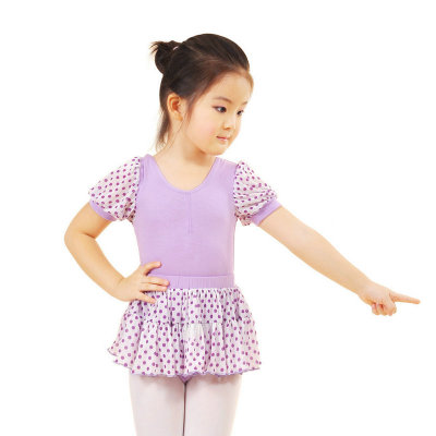 Falling redrain flagship sports practice skirt ballet dance clothes for children to practice new piece