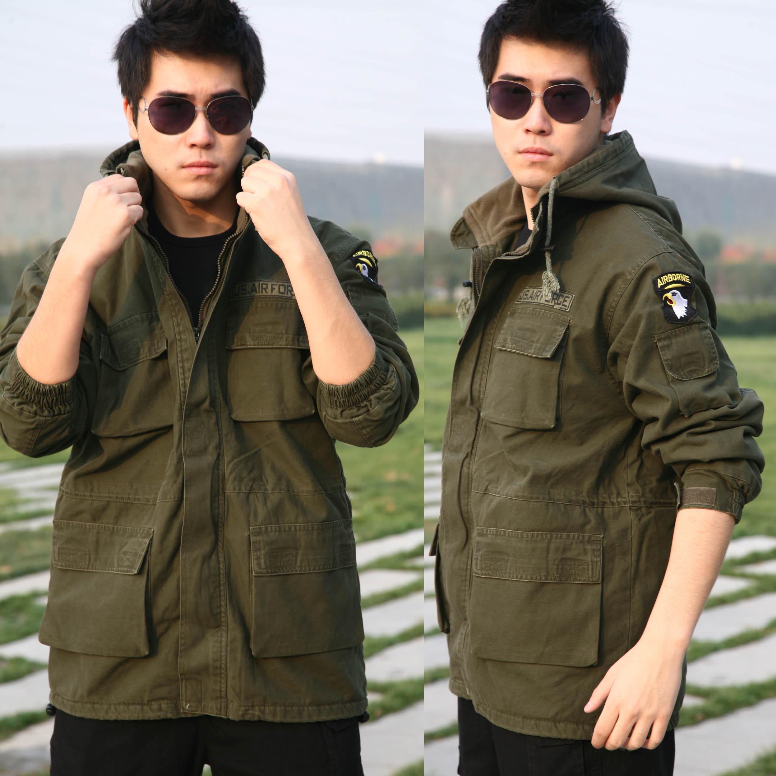 Мужская Одежда Милитари