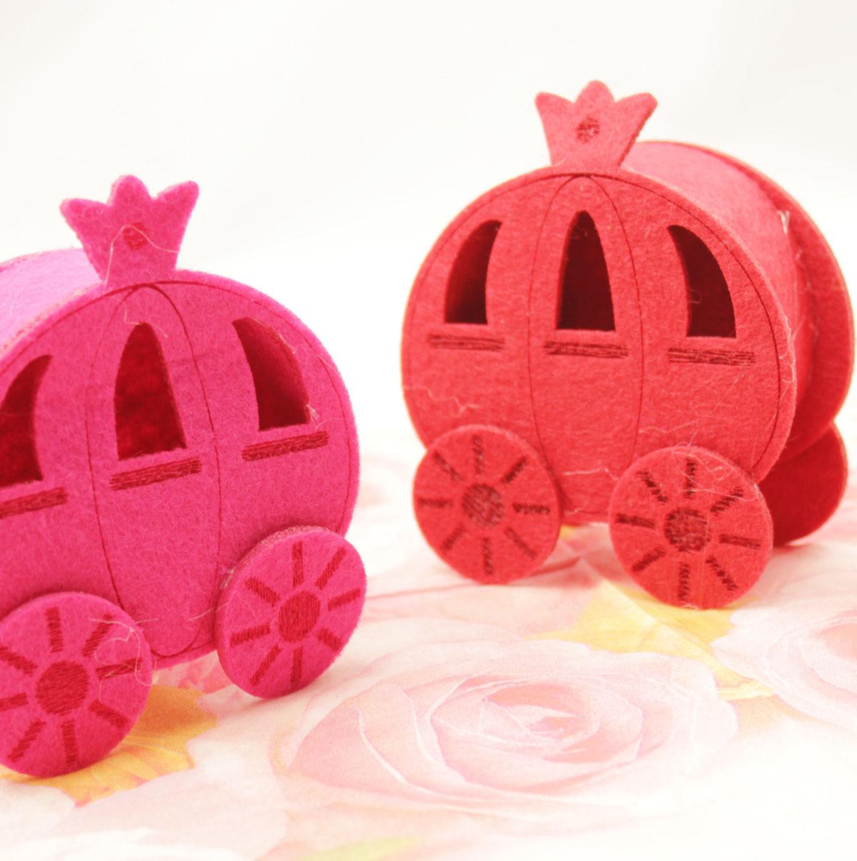 浪漫结婚庆礼喜糖盒 创意童话南瓜马车喜糖袋 个性欧式成品喜糖盒
