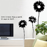 Hello Robot love marriage room decoration bedroom children's room sofa living room TV wall removable wall stickers