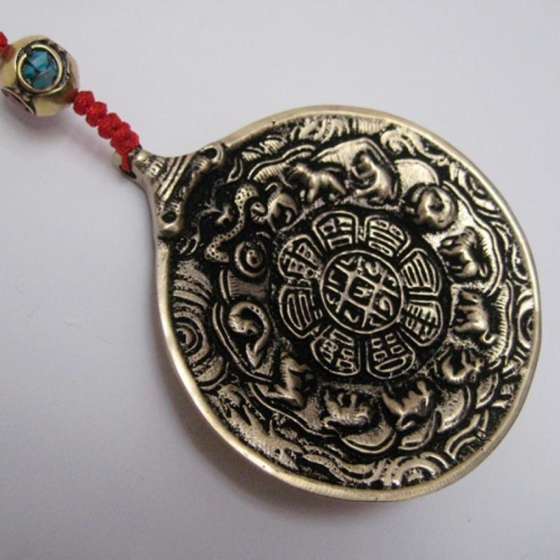 Тибетский сувенир из бронзы Nepal imports Yaopai 7,7