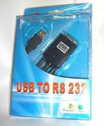 2303双芯片usb转串口线\\usb转com口\\ usb to RS232\\USB转9针 15元