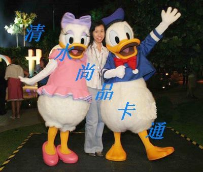 Cartoon costumes, performance costumes, cartoon costumes, Disney cartoon Donald Duck cartoon costumes Special