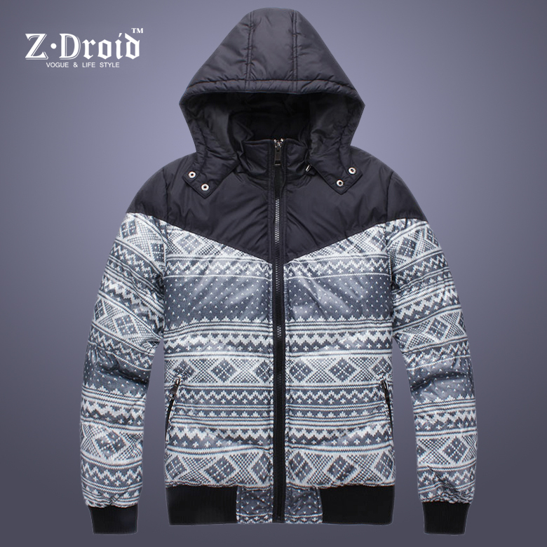 It is Jue-season men's jacket coat printing bomian thicken men's jackets casual cotton clothing cotton suit men