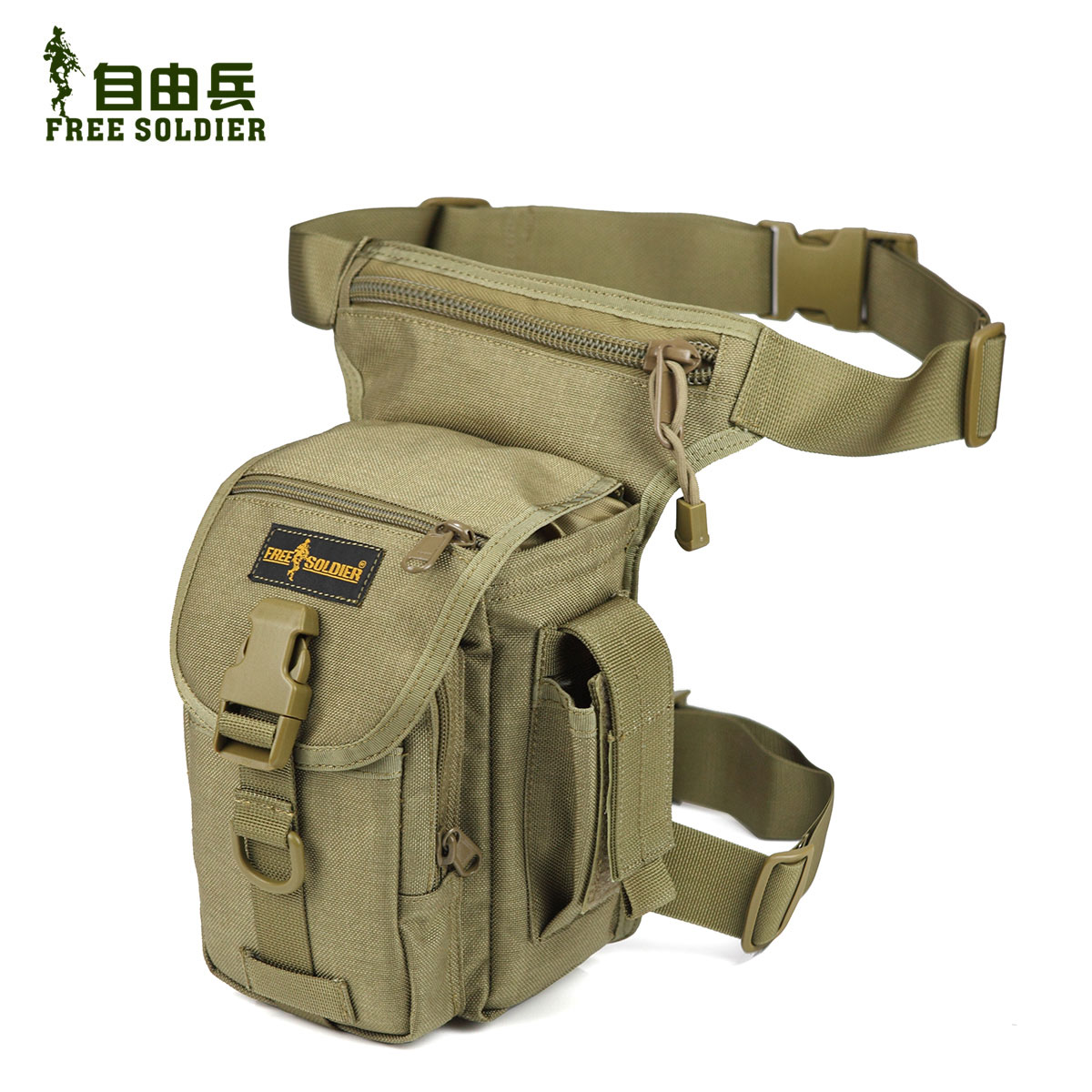Свобода солдаты на открытом воздухе многофункциональные карманы и сумки мешок нога тактическое маневрирование нога...