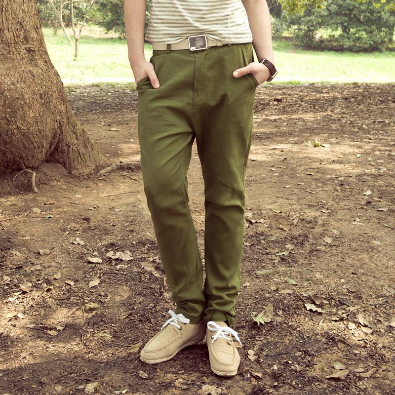 新款非主流品牌男装韩版男士休闲裤宽松锥形裤低档裤潮休闲哈伦裤