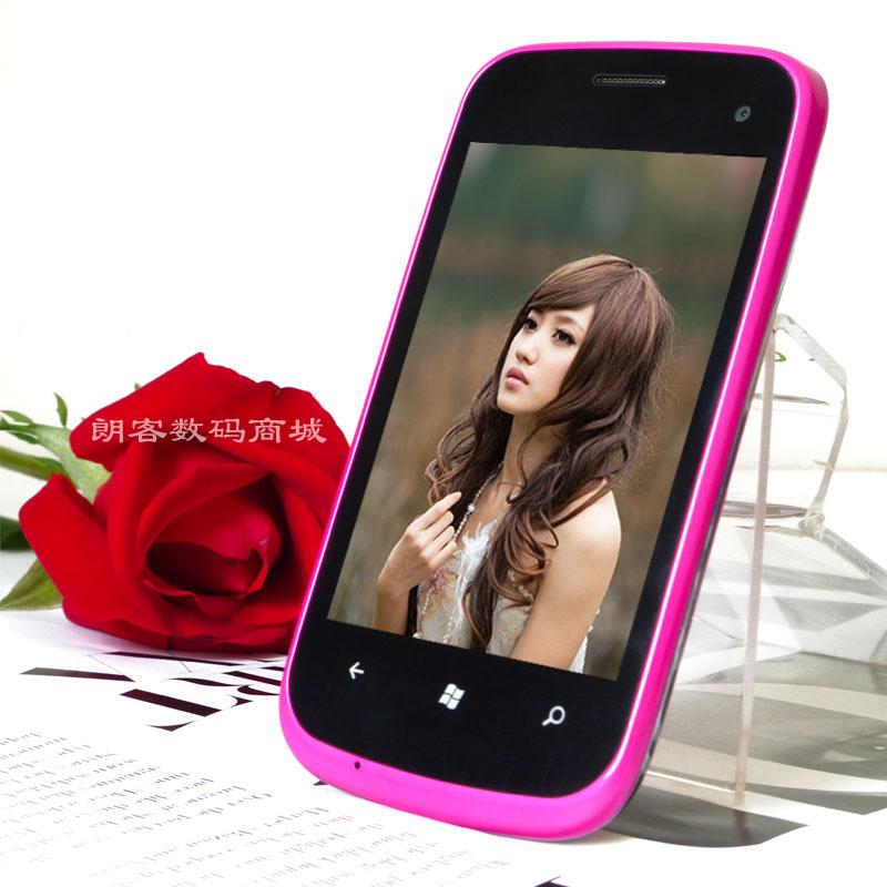 Мобильный телефон Telsda Android / Эндрюс Емкостный сенсорный экран 3,5 дюйма Wi-Fi доступ в Интернет, Двойные карты двойной режим ожидания, Hd видео