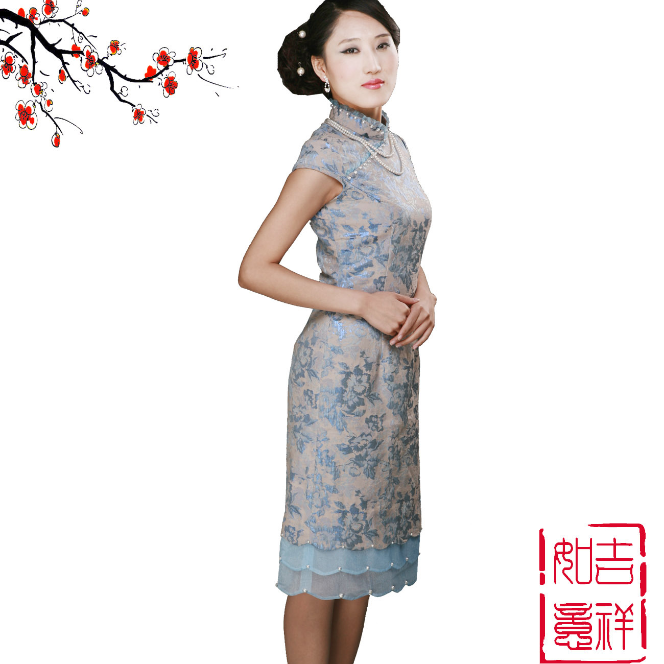 Платье Ципао   2011, 160