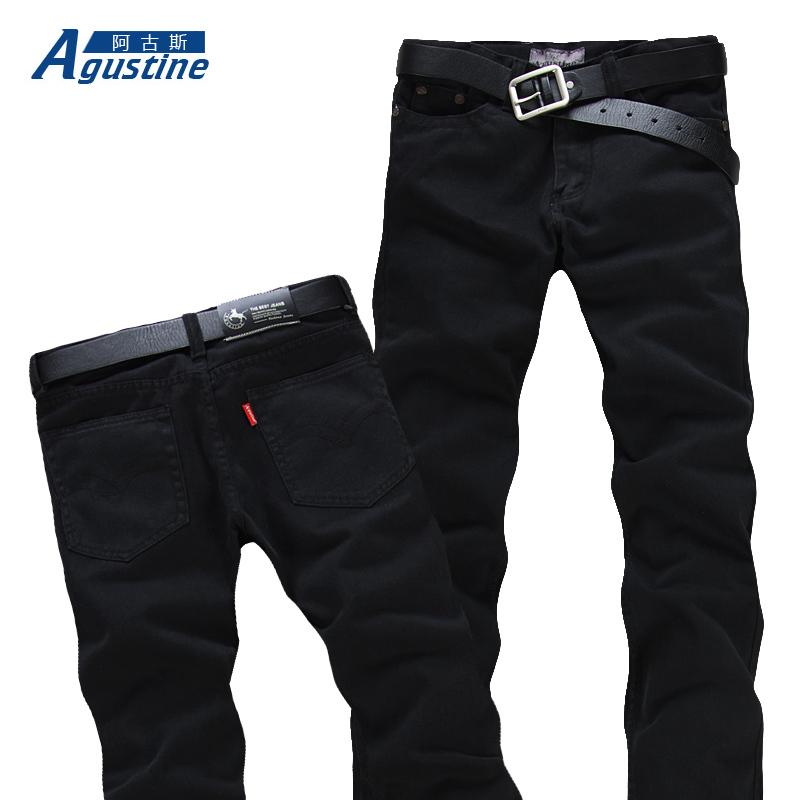 Джинсы мужские Agustine 701 Классическая джинсовая ткань 2013
