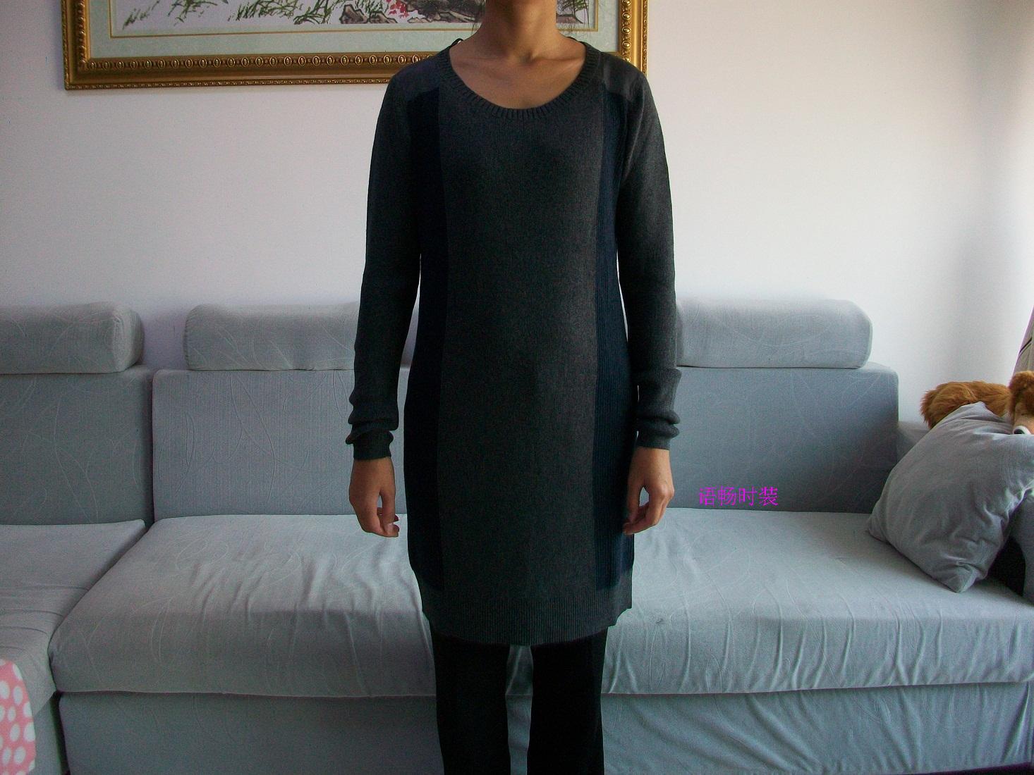 Свитер женский DKNY j326s569 JEANS 2012 Разное Осень 2012 Длинный рукав Классический рукав О-вырез