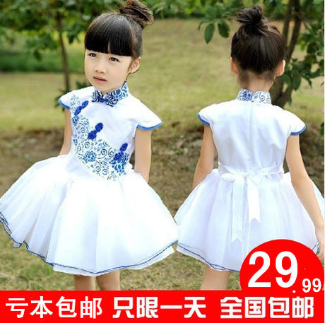 2014 New Girl skirt short sleeve summer colthing babay dress bubble skirt full dress  Taobao Agents