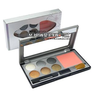 Beautiful said recommend genuine monplay monplay eye shadow/ Phantom of color six-color eye shadow + blush 3,590