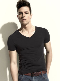 2012, new simple fashion dream Basha underwear v-neck men's clothes at  end of 016212212