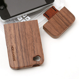 The black walnut Geekcook Apple iPhone44S cellphone shell shell shell Bamboo protective cover wood