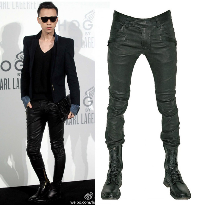 Balmain 2013Balmain Quan Zhilong GD Europe wind style zipper pants for men and wagons