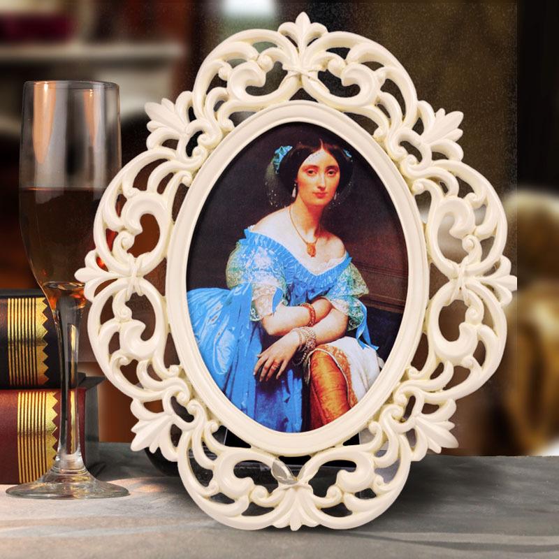相框 复古婚照相框 相框创意 像框 相框欧式画框树脂摆件欧式摆件