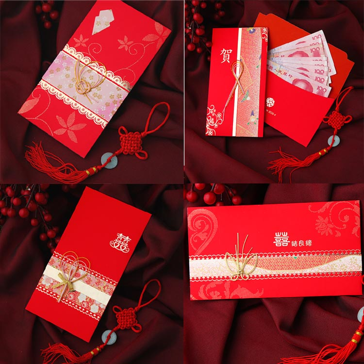 红包创意 结婚万元新娘包利事封h36-1 婚庆用品 日式红包