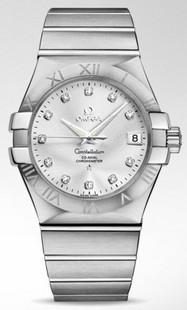 Часы Omega 09 123.10.35.20.52.001 2710 Механические с автоподзаводом Мужские Швейцария 2009