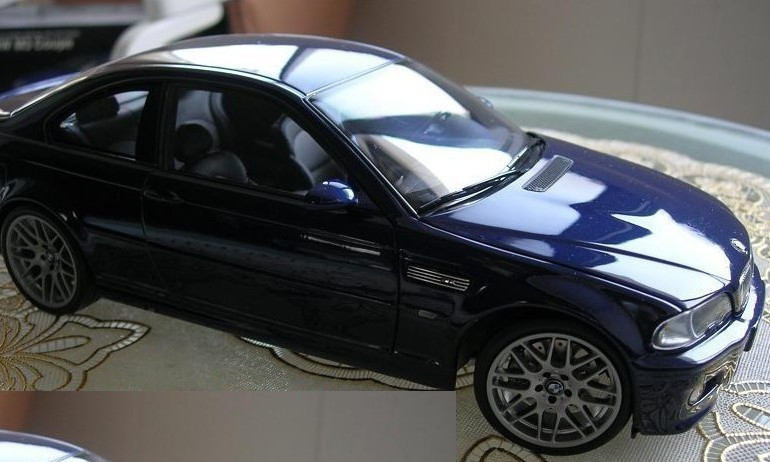 Модель машины Kyosho BMW M3 Coupe E46/BMW M3 1:18 ★ ★