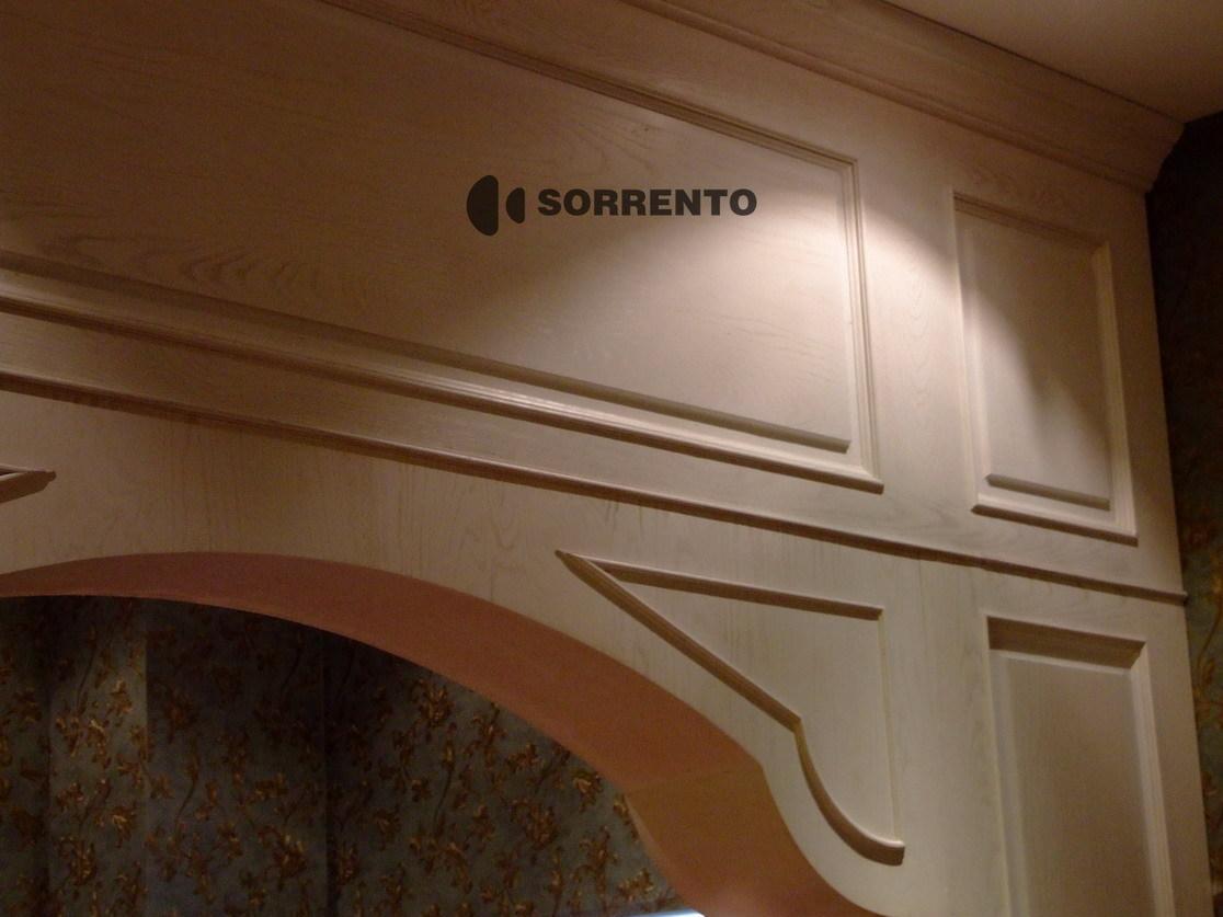 索伦托定制定做实木护墙板墙裙板欧式木墙裙装饰板保兰 68图片