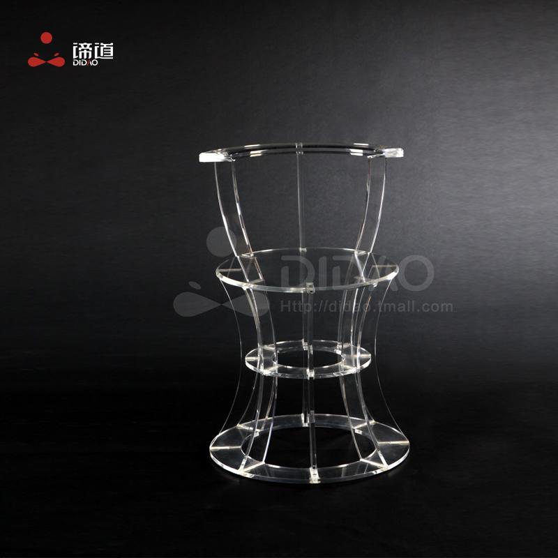后现代亚克力家具 艺术椅子 展厅创意椅子 简约设计个性椅子 谛道