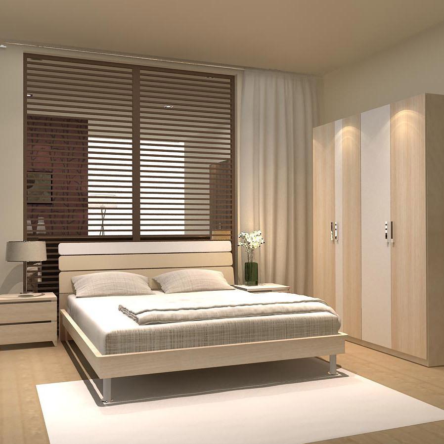 классическая кровать People  1.5 1.8