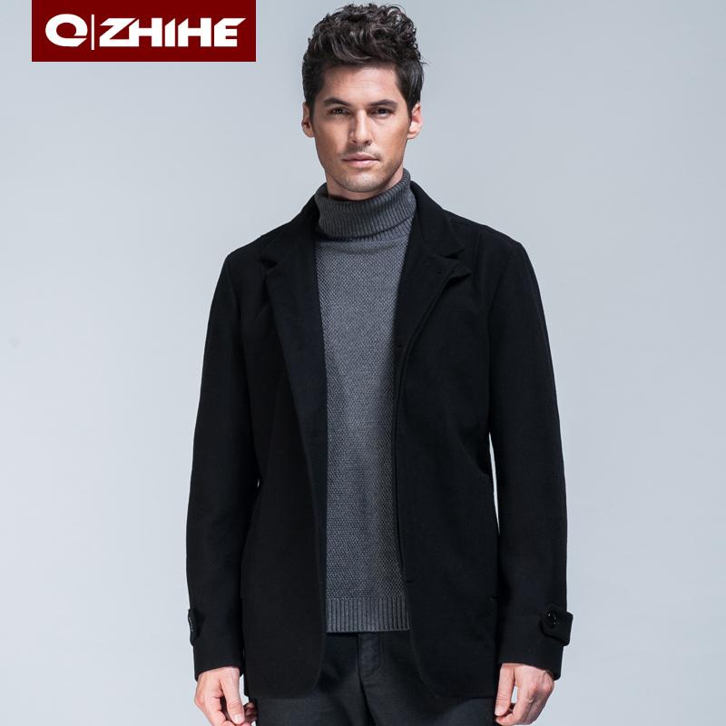 Ветровка мужская QZHIHE f621 Флис Овчина Зимняя Пуговицы в 1 ряд