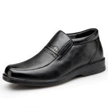 NX奥康冬季新品棉鞋男士日常休闲鞋真皮鞋 潮流商务鞋正品包邮图片