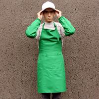 男士调节袢工作围腰套装 制服呢可调节围裙+袖套+帽子套装 20002