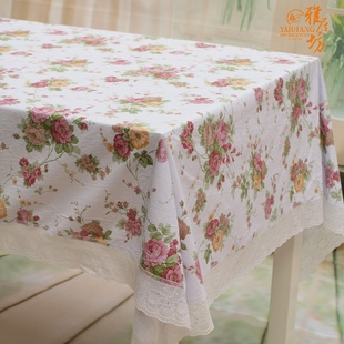 Waterproof PVC tablecloth, agile workshop pastoral table cloth tablecloth table cloth fine prints from wash cloth
