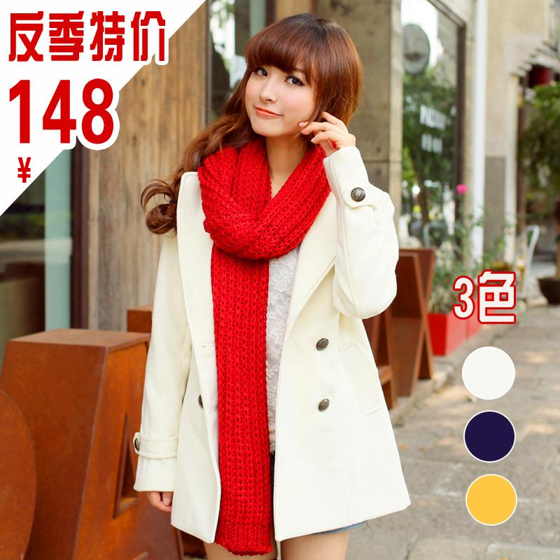 женское пальто Cat Зима 2012 Средней длины (65 см <длины одежды ≤ 80 см) Cat / YUMA Длинный рукав Классический рукав