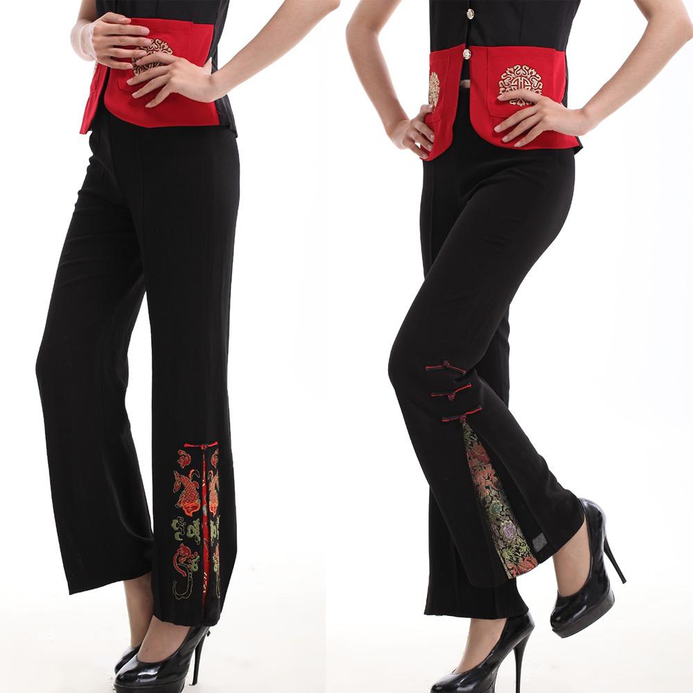 Национальные китайские брюки Beauty Xin thinking 12 /k11