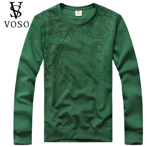 Толстовка VOSO 12501c 2012 Манжеты Осень Модная одежда для отдыха Хлопок без добавок