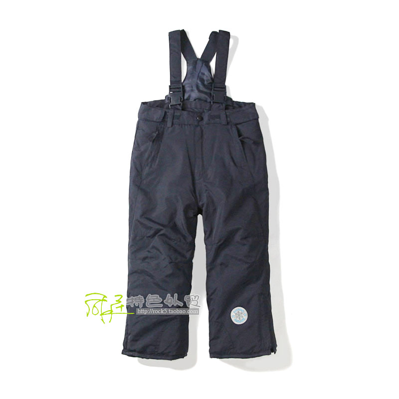 German exports of dual-use strap detachable quilted ski overalls children overalls k120116