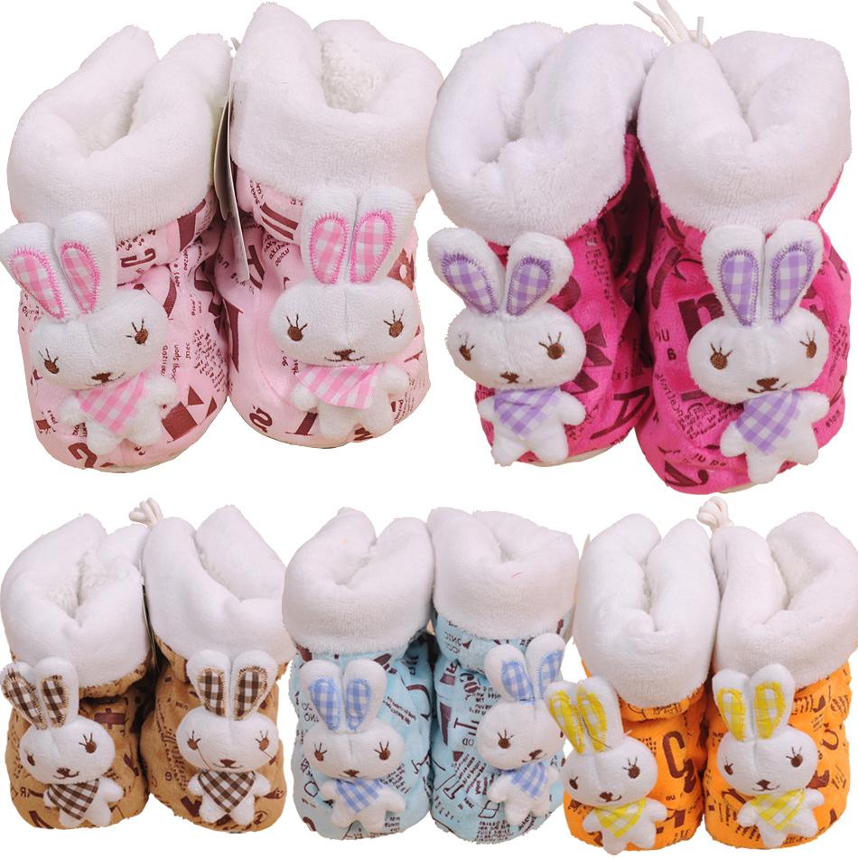 Детские ботинки с нескользящей подошвой Dream Babe s21265 2012 Унисекс Замша Шнурок Зима Бренд Однотонный цвет