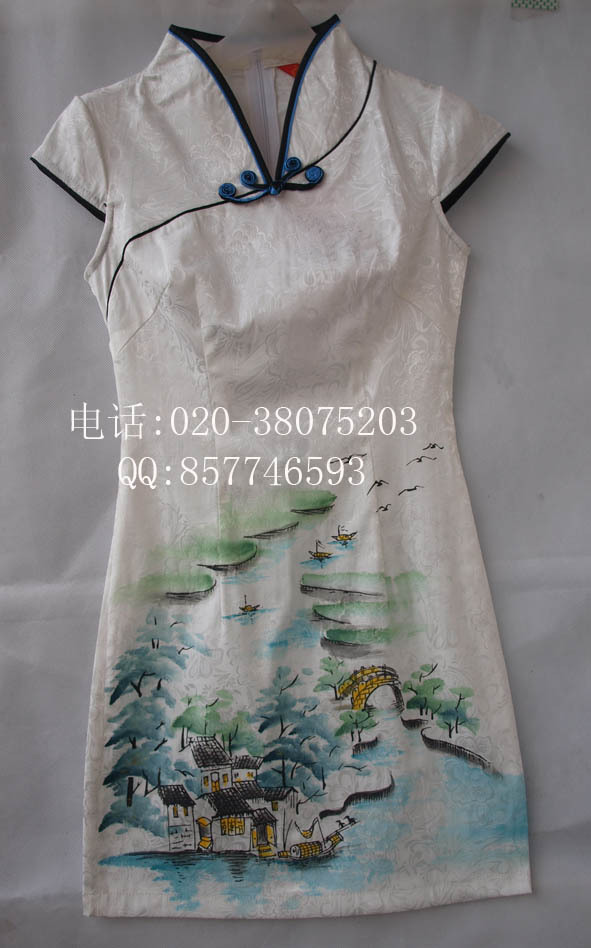 Платье Ципао   2011 8213