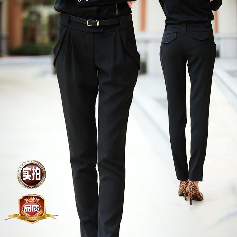 Классические брюки HAEVOFRI h6892 2013 OL Прямой Длинные брюки Обычная Осень 2012