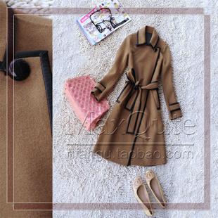 женское пальто Подлинной европейской оригинальный осень/зима 2012 овчины мешок текстурированной шерсти для поддержки обмена