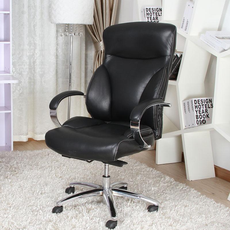 恒林电脑椅老板椅真皮办公椅人体工学椅子大班椅职员椅总经理椅凳