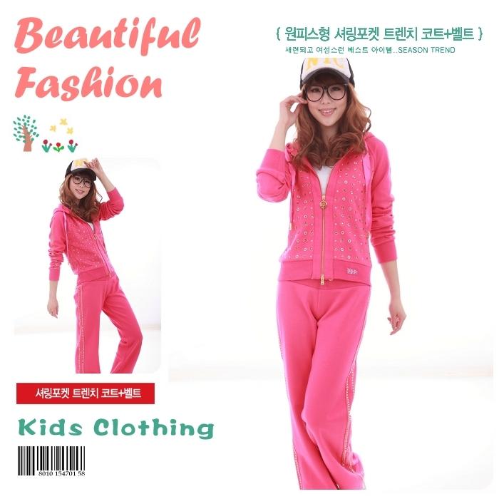 2014春季新款运动套装 纯棉 女款套头连帽卫衣 休闲韩版女装