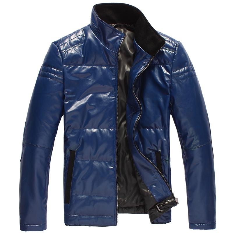 Одежда из кожи Mingr 11/88 Одежда из натуральной кожи Овечья кожа Зимняя Воротник-стойка