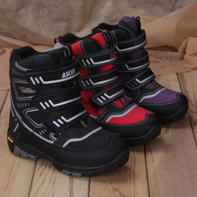ASCOT2014 new children waterproof thermal technology material boots male children's shoes on sale V