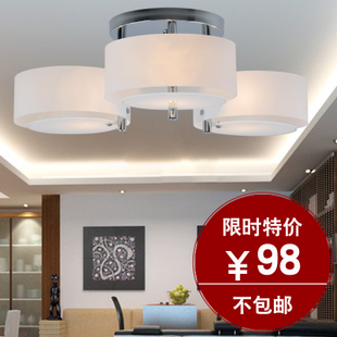 Modern fashion pendant romantic acrylic ceiling lamp bedroom living room lamp simple creative lighting D1715