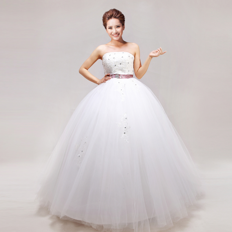 Свадебное платье Pulin Si 286 2012 229 2012 Сетка Юбка-пачка Корейский