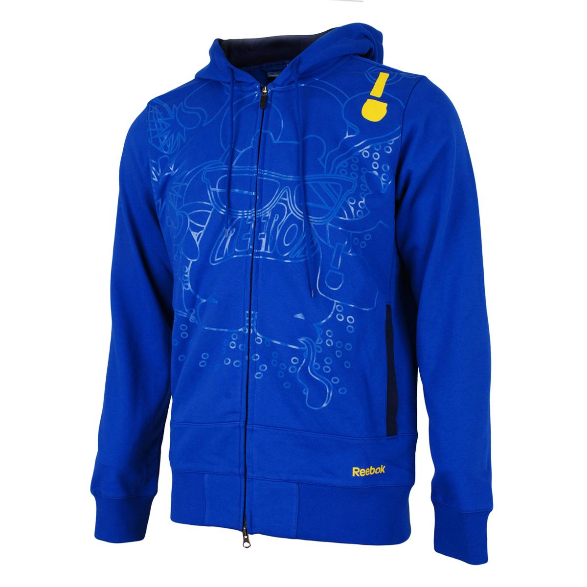Спортивная куртка Reebok rb7422 K84118 Для мужчин Воротник с капюшоном