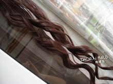 The thorn bird wig Wigs and hair pieces long curly hair width 10 65 weighing 25 thickening widened (7 colors)