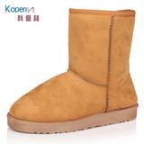 韩版低跟内毛男女潮流雪地靴