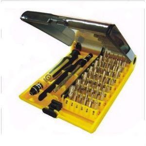 捷克利/JACKLY JK-6089-A 45合1 螺丝刀组合套装维修工具 加长柄