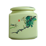 yyb porcelain ceramic tea pot deposit boxes of tea caddy ceramic seal tank storage tank